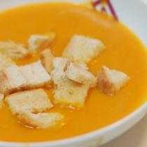Zuppa di zucca e taleggio