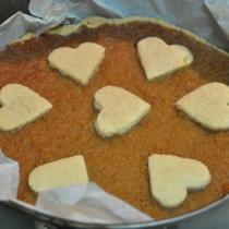 Crostata con marmellata di cachi