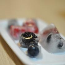 Frutti di bosco ghiacciati
