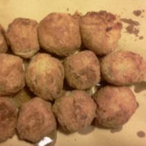 Crocchette alle castagne