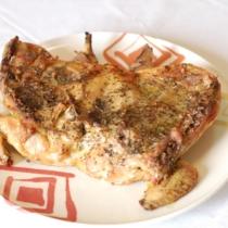Pollo alla diavola (cotto in forno)